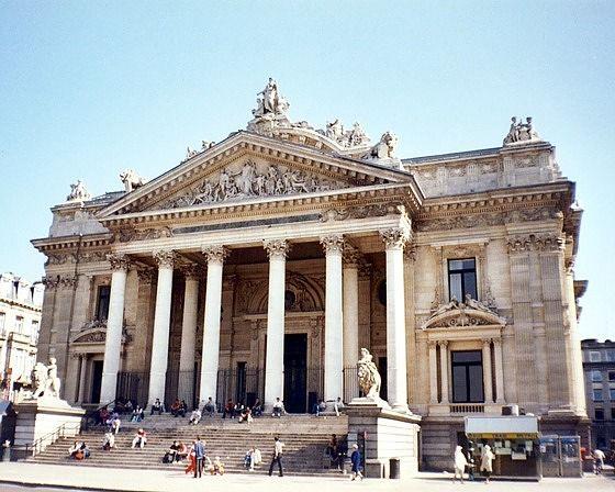 Bourse, Brussels, Belgium 2003 - Brussels