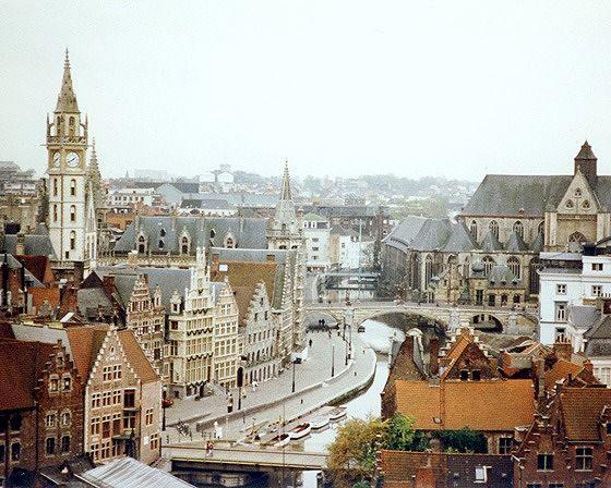 Skyline, Gent, Belgium 1998 - Gent