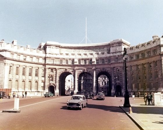 Admiralty Arch, London, UK 1974 - London