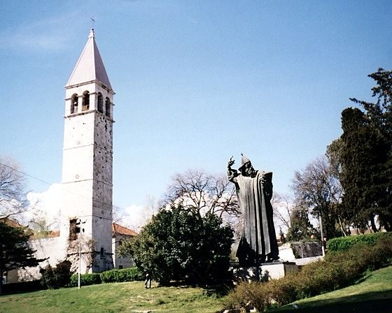 Benedictine Tower & Grgur Ninski, Split, HR 2004 - Split