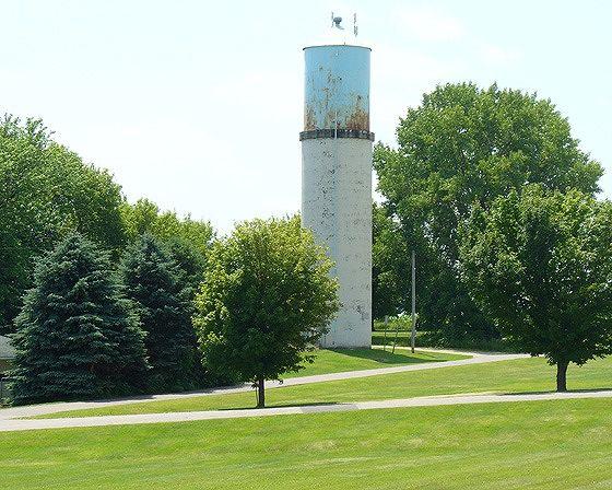 Water Tower, New Trier, Minnesota 2015 - New Trier