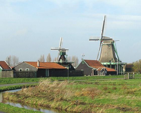 Klaverblad & Bonte Hen, Zaanse Schans NL 2012 - Zaanse Schans