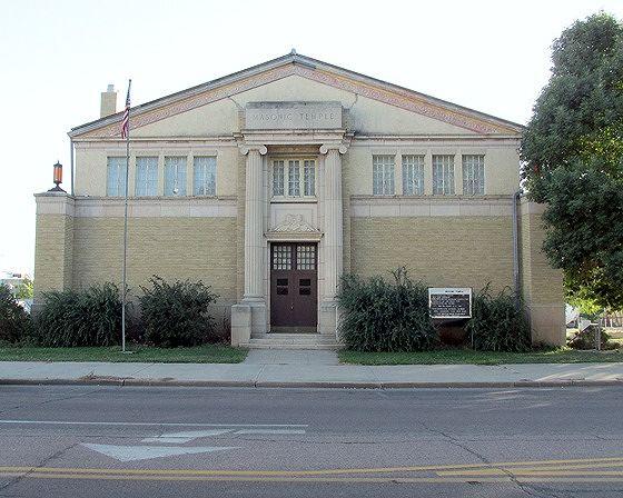 Masonic Temple, Pierre, South Dakota, US 2015 - Pierre
