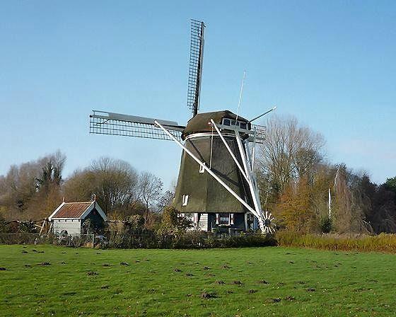 Riekermolen, Amsterdam, Netherlands 2010 - Amsterdam