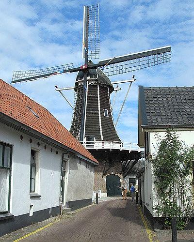 Molen De Fortuin, Hattem, Netherlands 2016 - Hattem