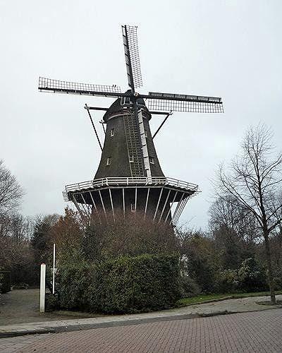 Molen De Bloem, Amsterdam, Netherlands 2010 - Amsterdam