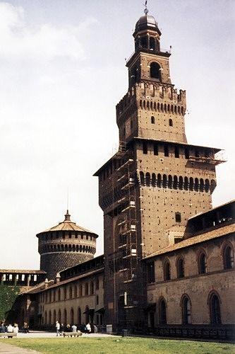 Torre del Filarete, Milan, Italy 1998 - Milan