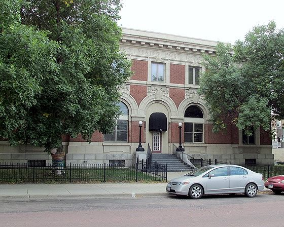 Post Office, Mitchell, South Dakota, US 2015 - Mitchell