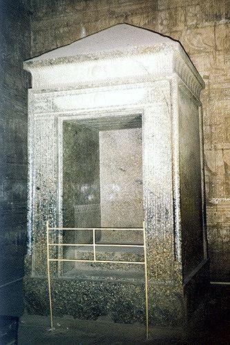 Naos of Nectanebo II, Edfu, Egypt 2001 - Idfu