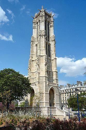 Tour Saint Jacques, Paris, France 2009 - Paris
