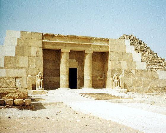 Mastaba of Seshemnefer IV, Giza, EG 2001 - Pyramids of Giza