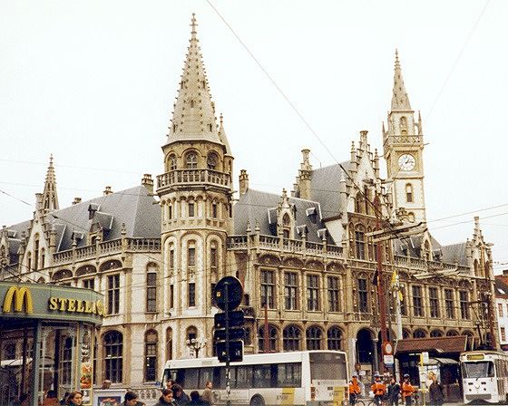 Oud Postkantoor, Gent, Belgium 1998 - Gent