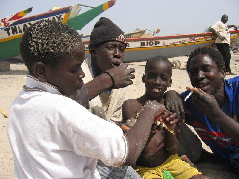 Soumbedioun fishermen