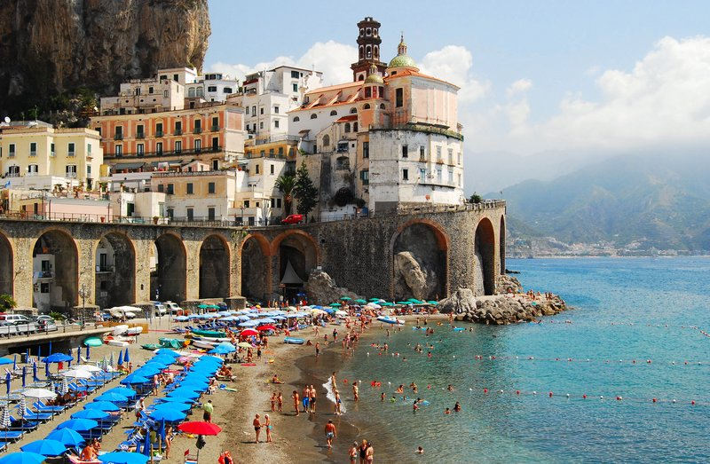 Atrani from near Amalfi