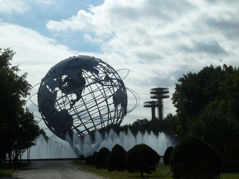 The New York State Pavilion-Flushing/Corona Park