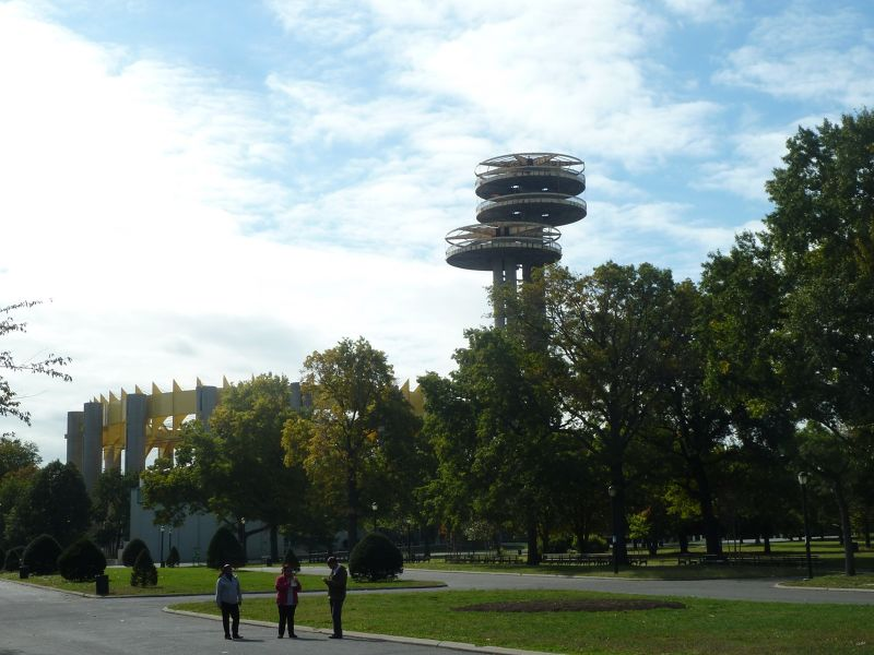 The New York State Pavilion-Flushing/Corona Park