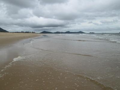 Hailing beach