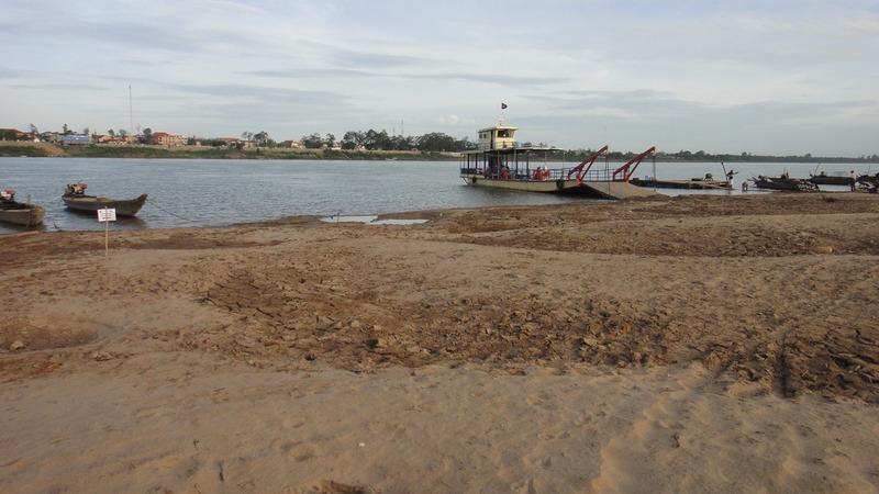 Bottom of the Mekong