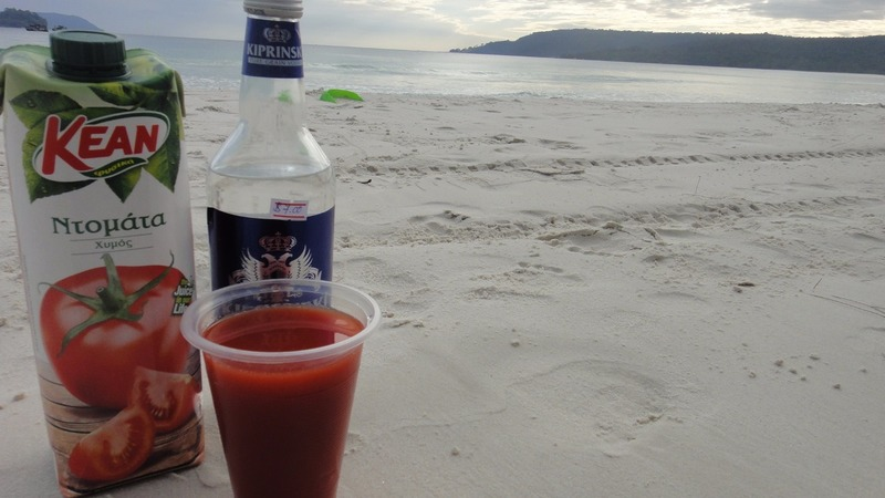 bloody mary concoction