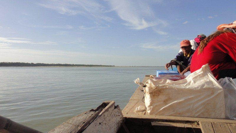 Ferry on the Mekong