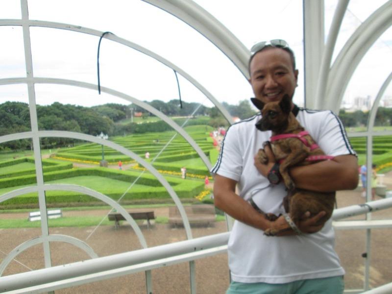 Curitiba botanical gardens with Ricardo and Shanna