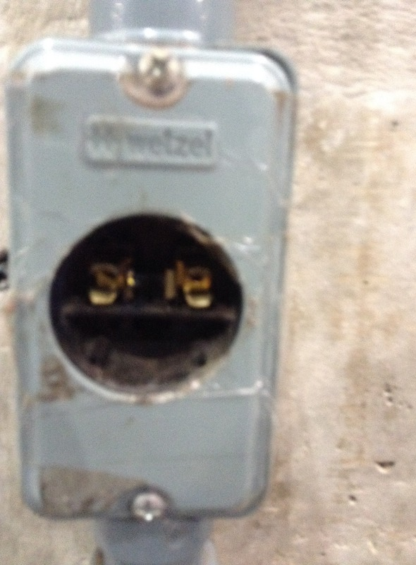 The offending outlet
