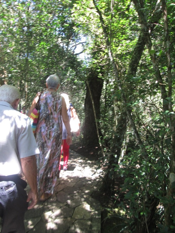 Old people on the trail