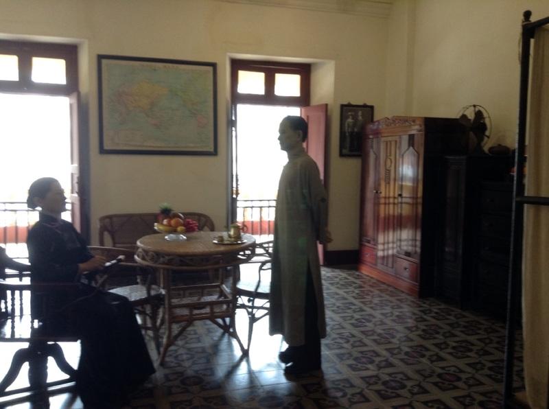 Sun yat sen's room