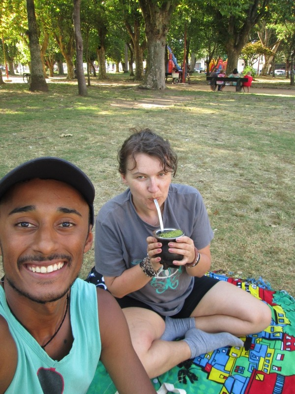 Mate in the park