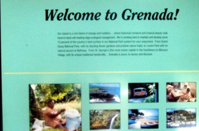 Welcomd to Grenada at Grand Etang