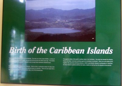 Birth of Caribbean islands