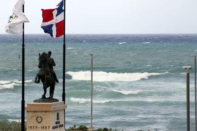 Close-up of  Statue of General Gregorio Luperón  - Puerto Plata