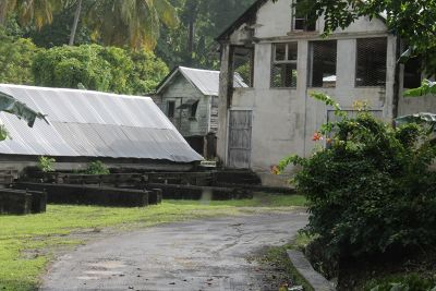 Buildings around the spice plantation - Grenada