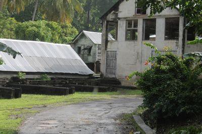 Buildings around the spice plantation - Grenada