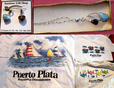 T-shirts and jewelry I bought - Puerto Plata