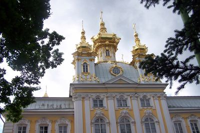 Upper Palace at Peterhof - Peterhof
