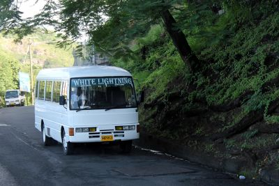 White Lightening mini bus - Grenada