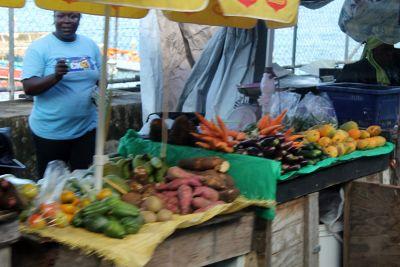 vegetables - Saint George's