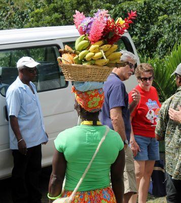 Banana lady - Grenada