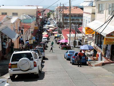 Street in St. George's - Saint George's