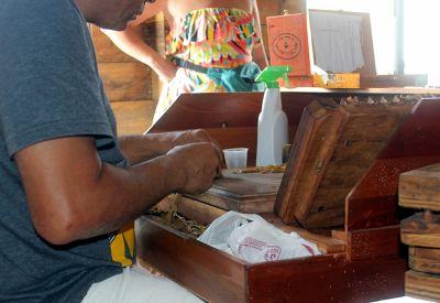 Making a cigar - Puerto Plata