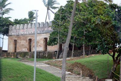 Fort wall - Puerto Plata