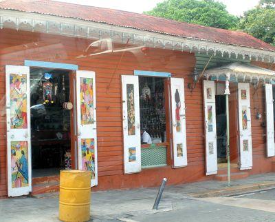 Colorful souvenir shop - Puerto Plata