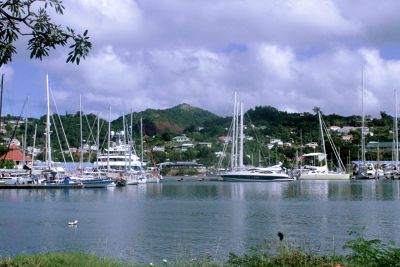 Port Louis Marina near St George's  Grenada
