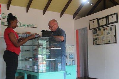 Bob buying chocolate