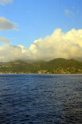 Grenada as we leave port