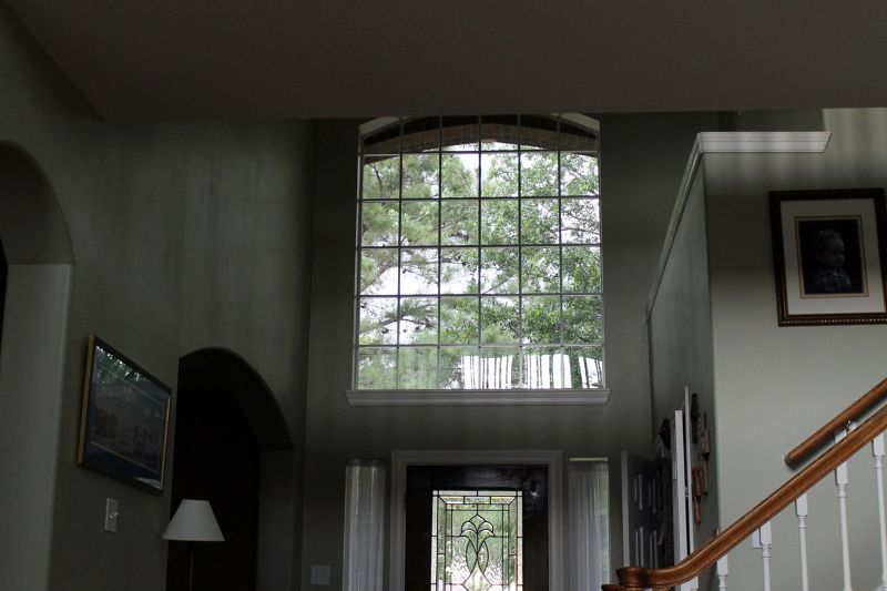 Rainy weather from inside my daughter's house - Houston