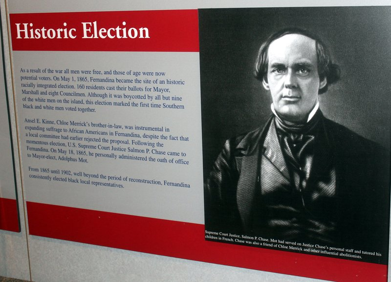 Racially integrated election 1865