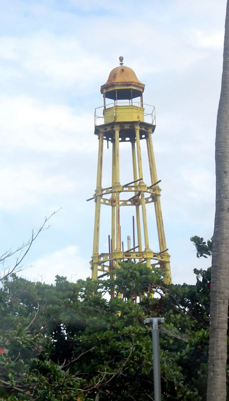 Close up of the top of the tower - Puerto Plata