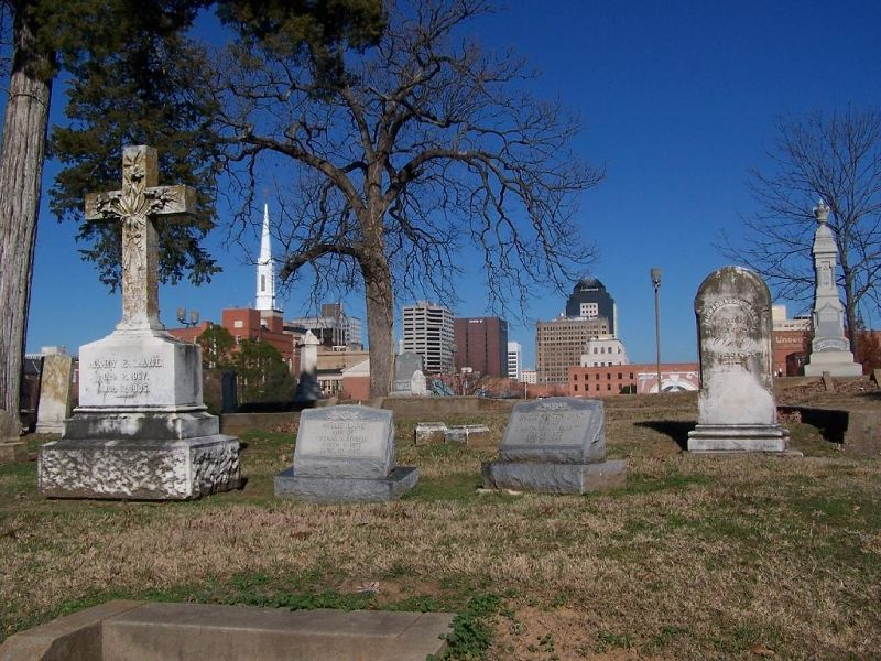 Some of the gravestones and monuments - Shreveport